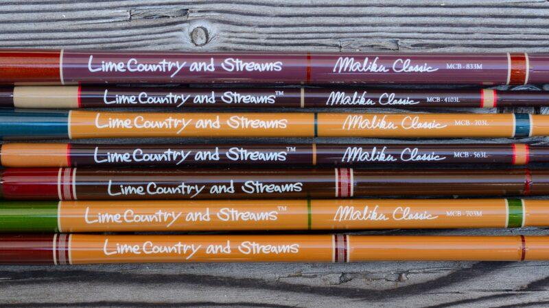 About Malibu Classic Trout Rods